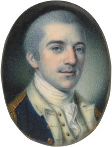 Miniature of John Laurens by Charles Wilson Peale