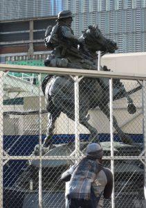Douwe Blumberg, America's Response Monument, 2011. Photo: Dianne L. Durante
