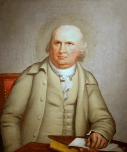 Portrait of Robert Morris by Robert Edge Pine, ca. 1785