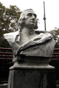 Attilio Piccirilli, Columbus, 1925. D'Auria Murphy Square, Bronx. Photo copyright (c) 2016 Dianne L. Durante