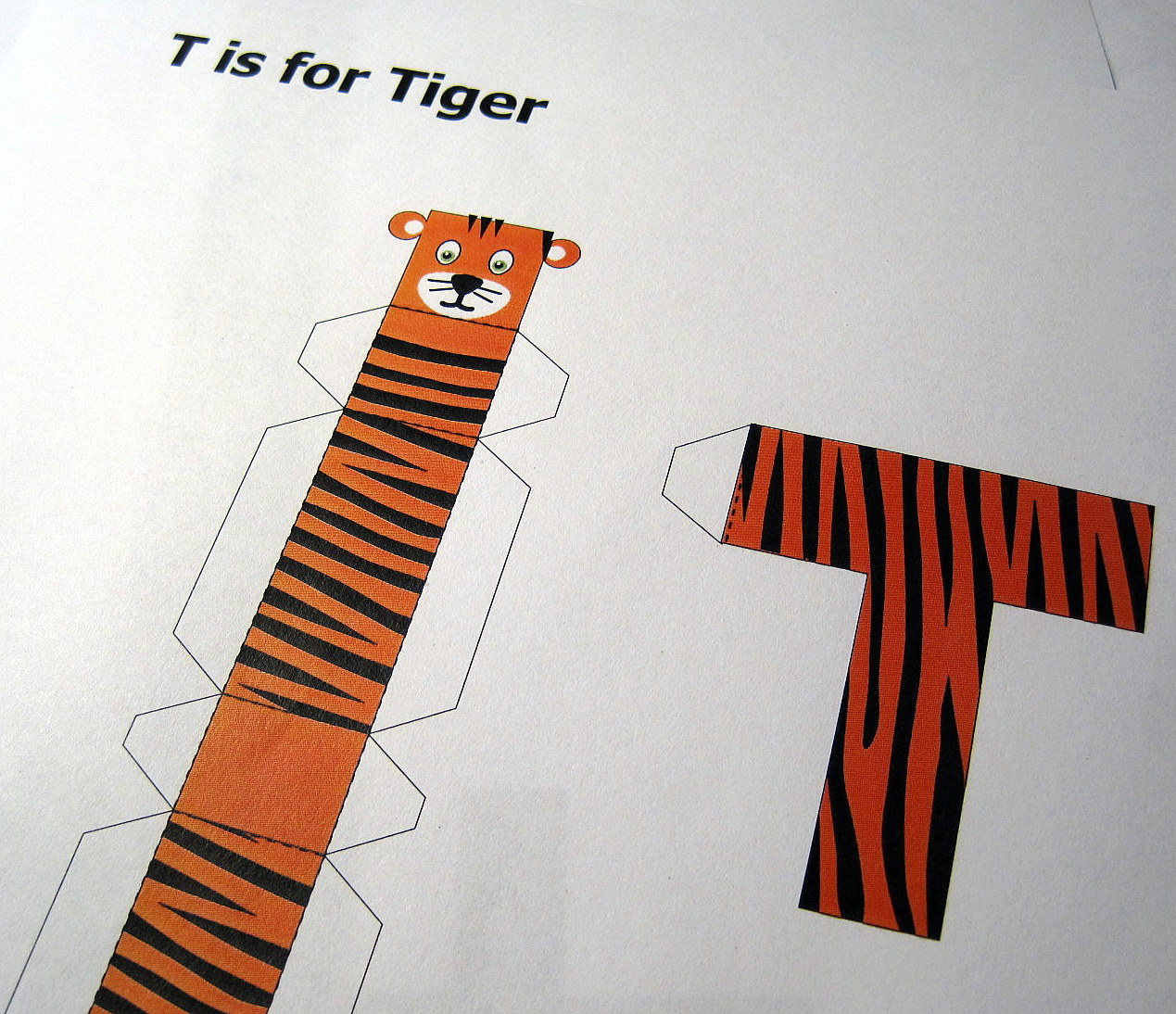 T Is For Tiger C Is For Craft