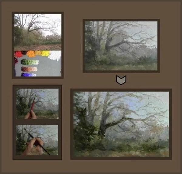 creating a visual path with hue