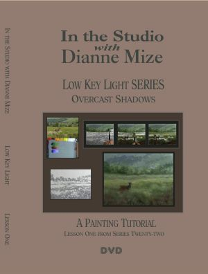 Painting tutorial about painting in overcast skies.