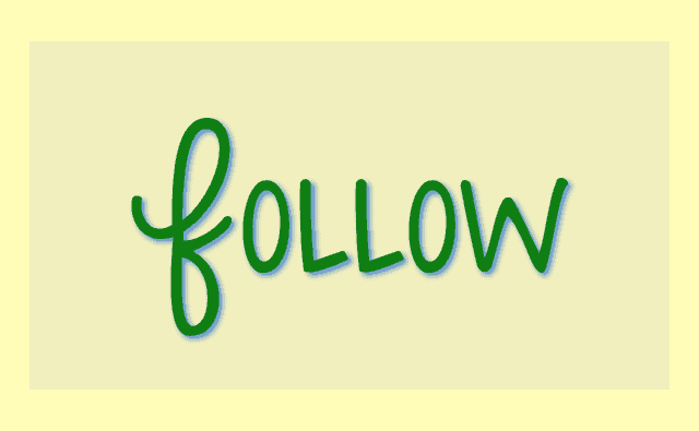 Five Minute Friday: FOLLOW