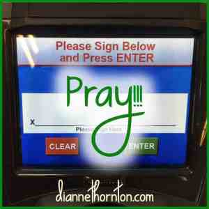 Pray Signature
