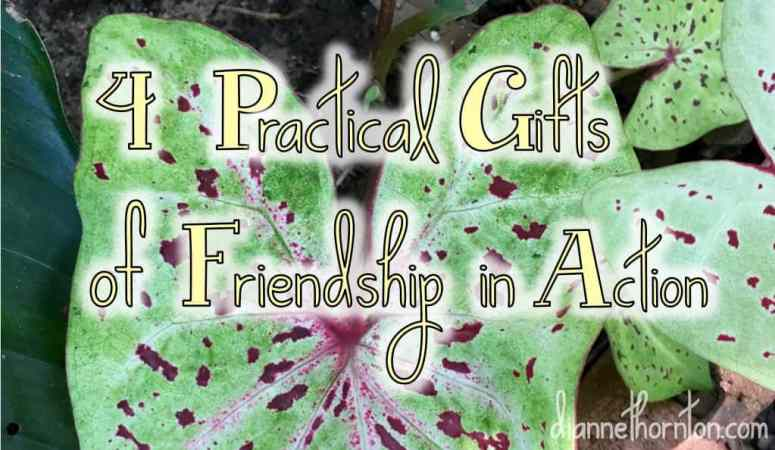 4 Practical Gifts Of Friendship In Action