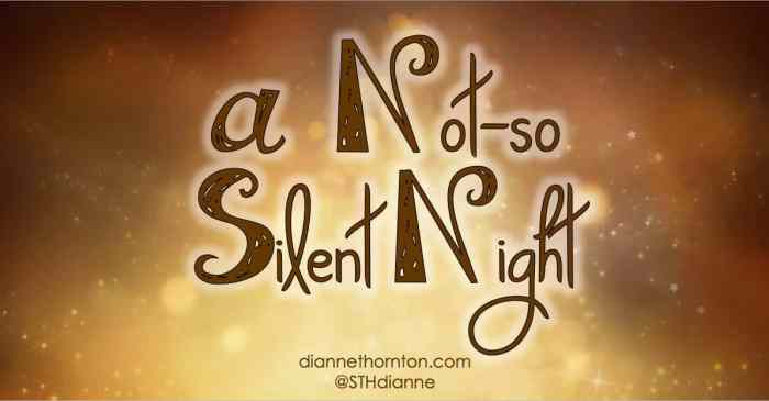 "Do you love the well-known Christmas Carol, ""Silent Night""? It's one of my favorites, too. But maybe it wasn't so silent after all."