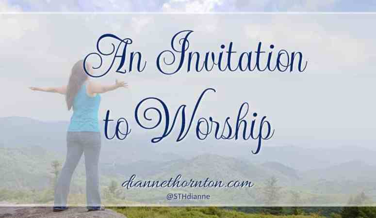 An Invitation to Worship