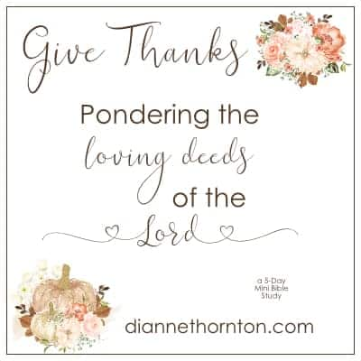 Give Thanks Through Pondering MBS