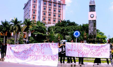 Mahasiswa UB Gelar Aksi Tolak Represi Birokrat Kampus