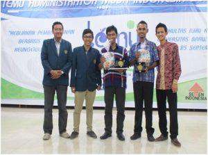 Temu Administrator Muda Indonesia : Universitas Cendrawasih Sabet Juara Pertama