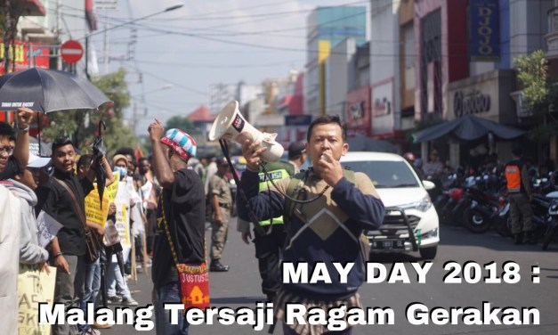 May Day: Malang Tersaji Ragam Gerakan