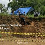 Ekskavasi Situs Purbakala di Desa Sekapuro
