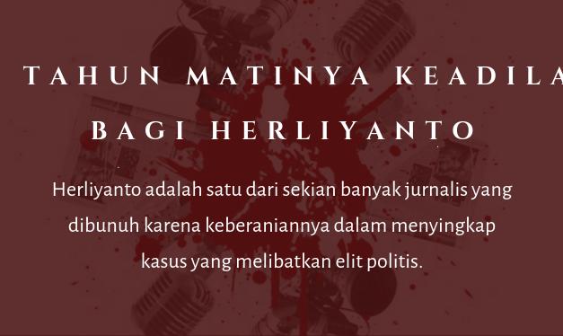 13 Tahun Matinya Keadilan Bagi Herliyanto