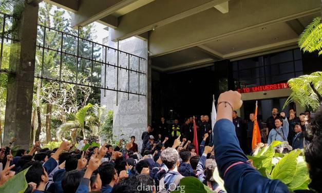 Aksi Hari Pendidikan Brawijaya, Tanpa Keputusan Pasti