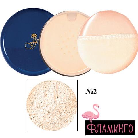 FFLEUR 9830 №2 Основа под макияж порошкообразная (*12) 1