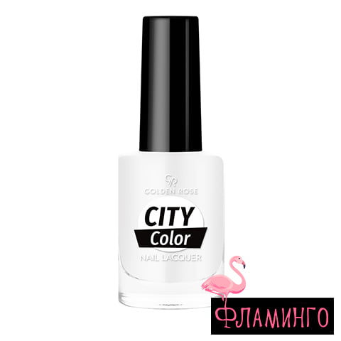 GR CITY COLOR (10,2мл) Лак д/ногтей № 003 1
