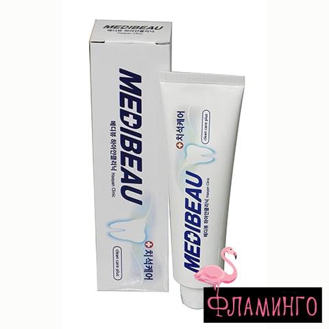 JUNA MEDIBEAU Зубная паста WHITE CLINIC White Отбеливающая 120гр (*60) 1