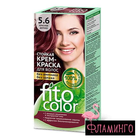 ФИТОКОЛОР тон 5.6 (красное дерево) Стойкая крем-краска д/волос,115мл (20шт) 1