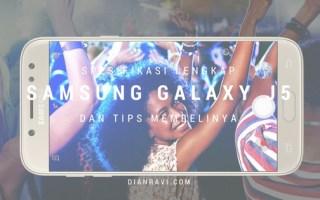Spesifikasi Lengkap Samsung Galaxy J5