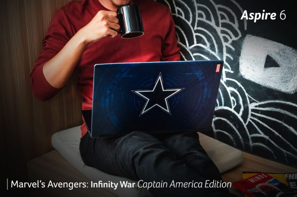 Acer Aspire 6 – Marvel's Avengers: Infinity War Captain America Edition