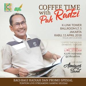 tokoh pengusaha sukses K Link Indonesia Dato Radzi Saleh