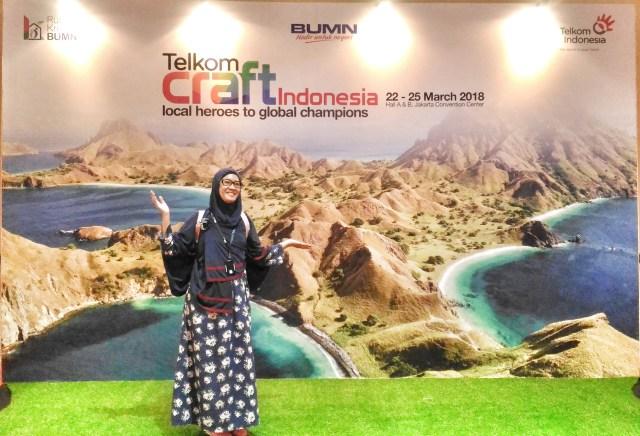 Telkom Craft 2018 dan Blanja Com menhadirkan UKM asli Indonesia