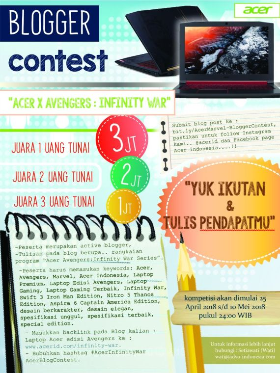 Acer Blog Contest