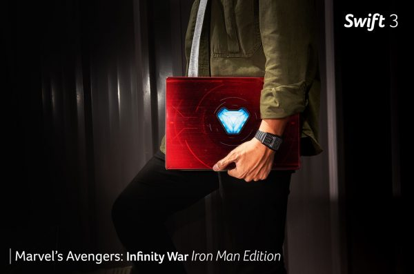 Acer Swift 3 – Marvel's Avengers: Infinity War Iron Man Edition