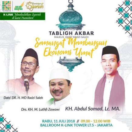 Tabligh Akbar K Link MLM Syariah