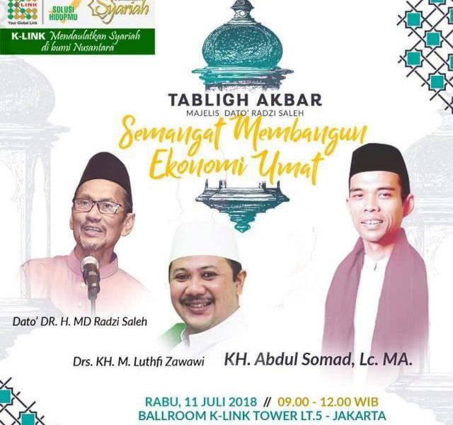 Tabligh Akbar K Link MLM Syariah
