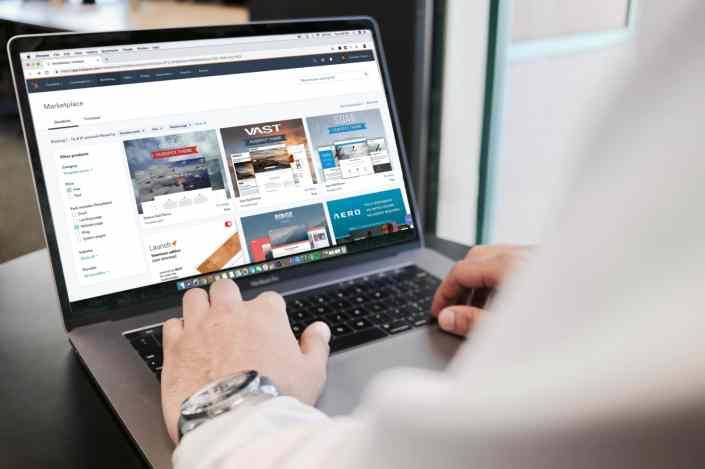E commerce mediante página web de un marketplace