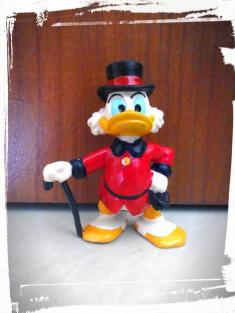 Scrooge McDuck - Bullyland - Germany/China, 1986
