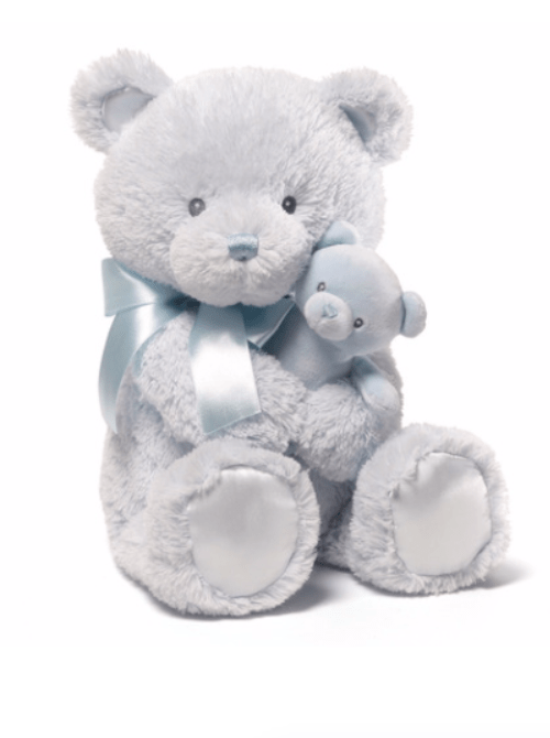 GUND Blue My First Teddy Bear Diaper Cakes Singapore