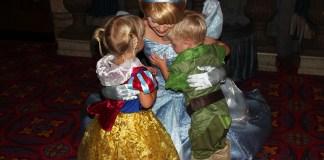 Cinderella's Royal Table, Disney Dining Plan, Disney Castle, Walt Disney World, Snow White, Cinderella, Aurora, Ariel, diapersonaplane, Diapers On A Plane, Traveling with kids, family travel