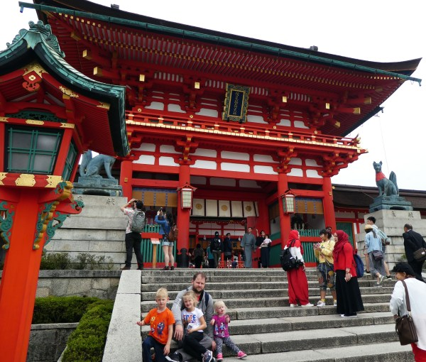 Fushimi Inari-Taisha, Shrine, Japan, Kyoto, Asia, History, Hiking, Diapersonaplane, Diapers On A Plane, Traveling with kids, family travel,