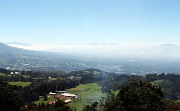 Costa Rica, Poás Volcano, Poas Volcano, Lake Botos, Laguna Caliente, Fog, diapersonaplane, Diapers On A Plane, Traveling with kids, family travel, Playa Herradura, Monteverde Cloud Forest