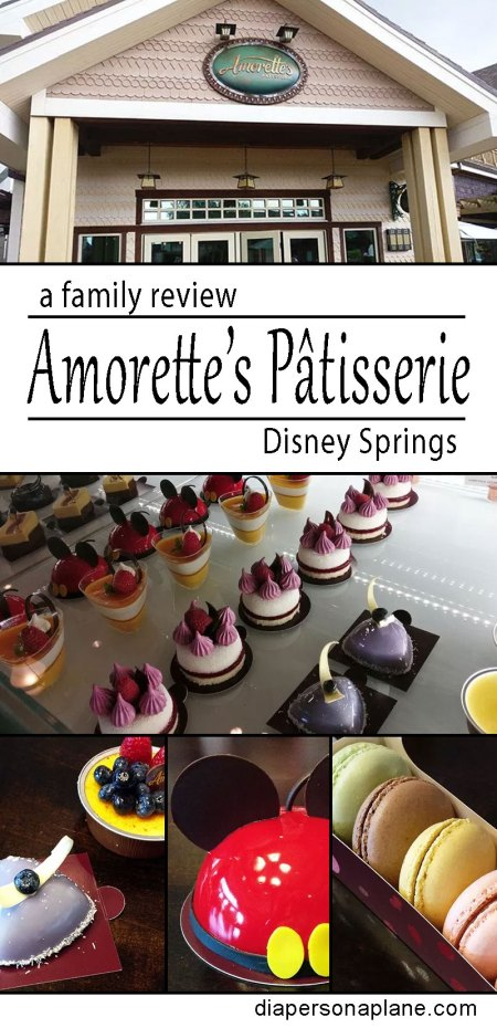 Amorette's Patiserre, Disney Springs, Bakery, Patisserie, Chocolate, Cake, Cheesecake, Mousse, diapersonaplane, Diapers On A Plane, creating family memories, family travel, traveling with kids