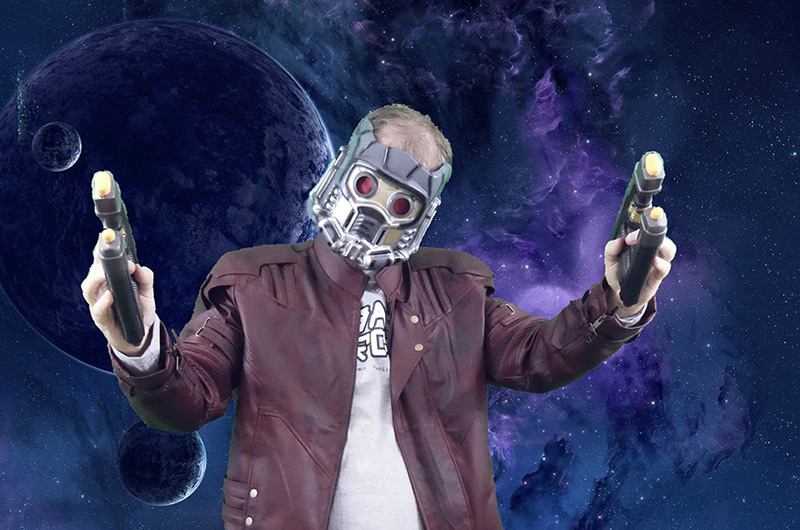 Tutorial for Star-Lord Halloween Costume from Guardians of the Galaxy