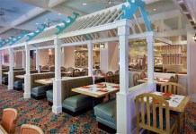 Cape May, Beach Club Resort, Walt Disney World, Dining, table service, seafood, diapersonaplane, Diapers On A Plane, family travel, traveling with kids, creating family memories,