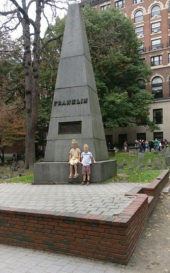 Granary Burial Ground, Granary Burying Ground, Boston, Massachusetts, Grave Site, Grave markers, cemetery, Revolution, Sons of Liberty, diapersonaplane, diapers on a plane, creating family memories, family travel, traveling with kids