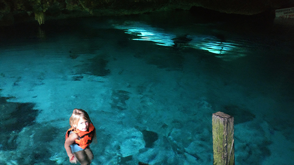 Dos Ojos, Cenote, Mexico, Cancun, Mexican Riviera, Swimming, Family Adventure, diapers on a plane, diapersonaplane, creating family memories, family travel, traveling with kids, cenotes in Mexico, cenotes for families,