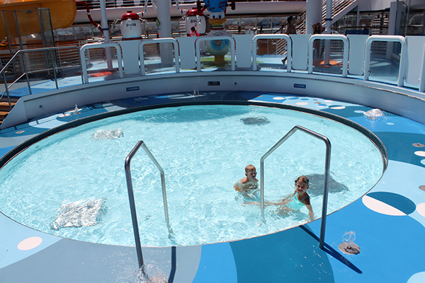 Ice Cream Disney Cruise Pools