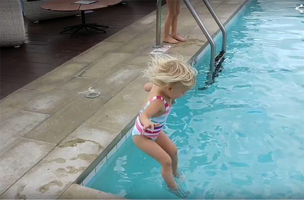 Teaching Your Kids How to Swim, 3 Year Old Treads Water For 3 Minutes, 3 Easy Rules for Teaching Your Child How to Swim and Not Be Afraid of the Water, How to Swim, Learning How to Swim, Teaching your Children How to Swim, Water, Pools, Swimming Pools, Summer Fun, Confidence, Teaching confidence, parenting, goals, diapers on a plane, diaperonaplane, family fun, traveling with kids, family travel, creating family memories
