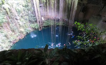 Cenote Ik Kil, Mexico, Riviera Maya, Yucatan Peninsula, Mayan Ruins, Sinkhole, diapersonaplane, diapers on a plane, traveling with kids, family travel, creating family memories