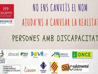 cartell persones amb discapacitat
