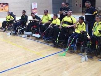 selecció catalana hoquei cadira de rodes