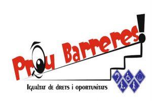 Prou Barreres logo