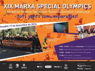 cartell marxa special olympics