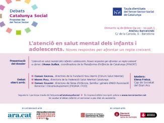 cartell debat salut mental infància adolescència